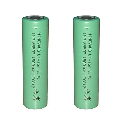 Batería Plana Superior 1500MAH Batería de 2 Paquetes