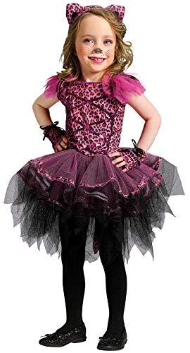 Horror-Shop Kleinkinder Kostüm Leo Ballerina S