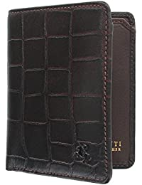 baa0221b73af Visconti Croco Collection Caiman Leather Wallet with RFID Protection CR91