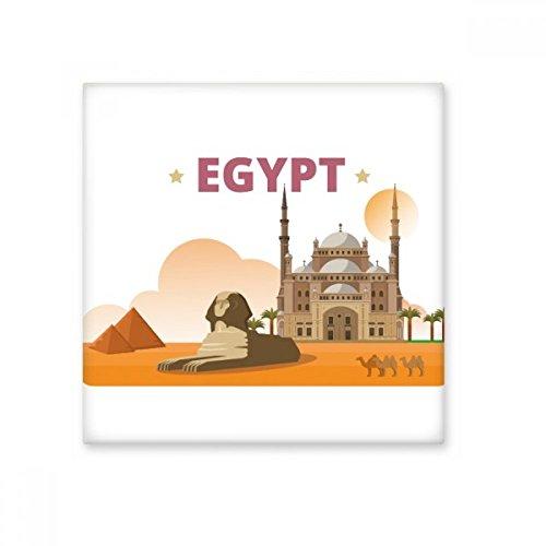 Keramische Fliesen-böden (DIYthinker Handbemalte Stadt Pyramide Sphinx Ägypten Kultur Elemente Keramik Bisque Fliesen für Dekorieren Badezimmer-Dekor Küche Keramische Fliesen Wandfliesen L)
