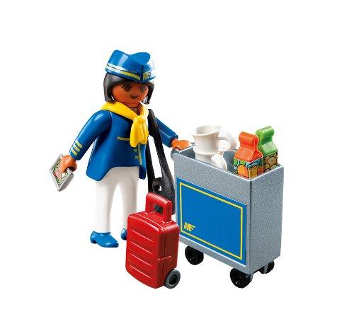 PLAYMOBIL Flight with Attendant Service Cart