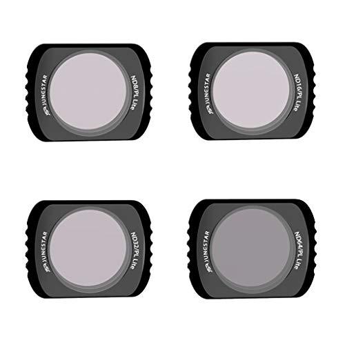 Bescita6 4Pc Nd8-Pl + Nd16-Pl + Nd32-Pl + Nd64-Pl Kamera Linse Filter Für DJI Osmo Pocket Tasche Lingbi Filter Ptz-Kamera -