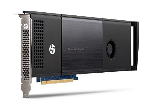 HP Z Turbo Drive Quad Pro 2x512GB PCIe SSD - Internal Solid State Drives (1024 GB, M.2, PCI Express, 2150 MB/s, 2 Gbit/s)