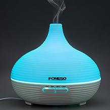Foneso Diffusore di aromi/Umidificatore ad Ultrasuoni/Diffusore oli essenziali 7 colori