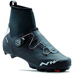 NORTHWAVE FLASH ARCTIC GTX Zapatillas carretera zapatos de invierno negro, Tamaño:gr. 45