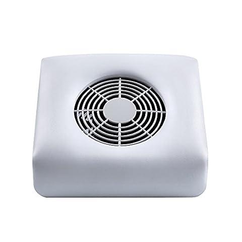 MAKARTT Mini Nail Art Dust Suction Collector Vacuum Cleaner Fan