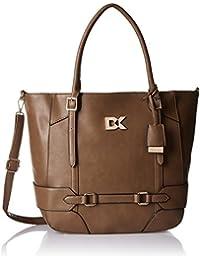 Diana Korr Women's Shoulder Bag (Khaki) (DK94HKHKI)