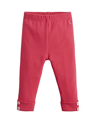 joules Soft Rib Baby Leggings - Tiefrosa - 0-3 Months - 62 cm Infant Baby Rib Legging