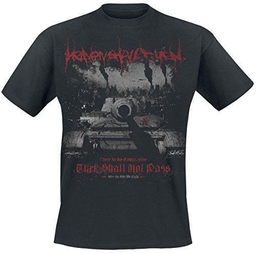 Heaven Shall Burn They Shall Not Pass T-Shirt Schwarz L (Burn-jungen-t-shirt)