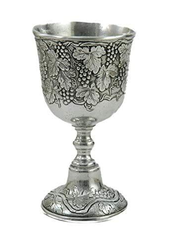 Calice in peltro eucaristico harry potter in metallo reale stile medioevo unico 100% made in italy cavagnini