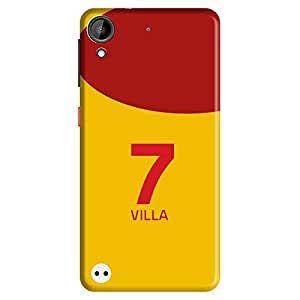 Mobo Monkey Designer Printed Back Case Cover for HTC Desire 530 (David Villa :: Football :: Spain :: Newyork City F.C. :: Jersey)