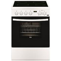 Faure FCV6530CWA Cuisinière Céramique A Blanc four et cuisinière - Fours et cuisinières (Cuisinière, Blanc, boutons, Rotatif, En haut devant, Céramique, Verre-céramique)