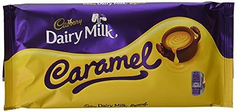 Cadbury Barre de Chocolat au Lait au Caramel 200 g