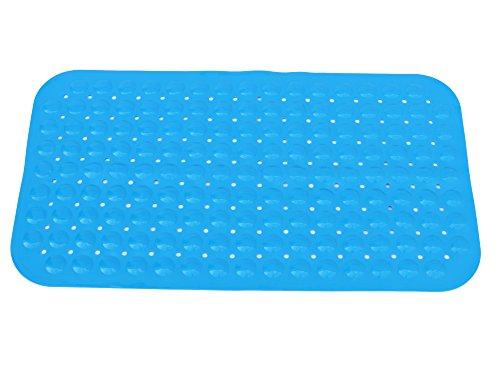 Spa ALBAAZ40X100 - Alfombra de PVC para interior de baño, 40 x 100 cm, color azul