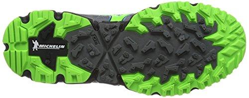 Mizuno Wave Daichi, Chaussures de Running Compétition Homme, Vert Grey (Quiet Shade/Green Gecko/Blue Sapphire)