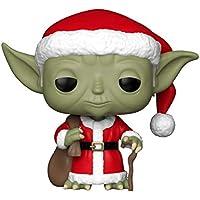 FunKo - Pop! : Star Wars: Holiday Santa Yoda (Bobblehead), Mehrfarbig, 33885