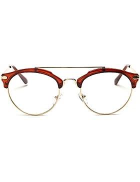 Tijn cross-bar sin receta gafas gafas marco para mujer