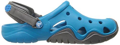 Crocs Swiftwater M, Sabots - Homme Bleu (Ultramarine/Graphite)