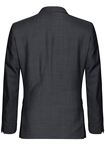 Michaelax-Fashion-Trade - Blazer - Uni - Manches Longues - Homme Gris - Grey - Grau(82)