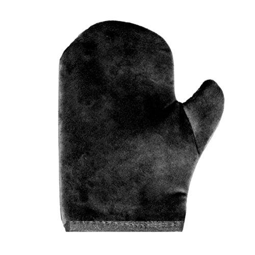 Lujoso guante de terciopelopara aplicar bronceador: el mejor guante aplicador de bronceador de larga duración y calidad prémium, suave al tacto