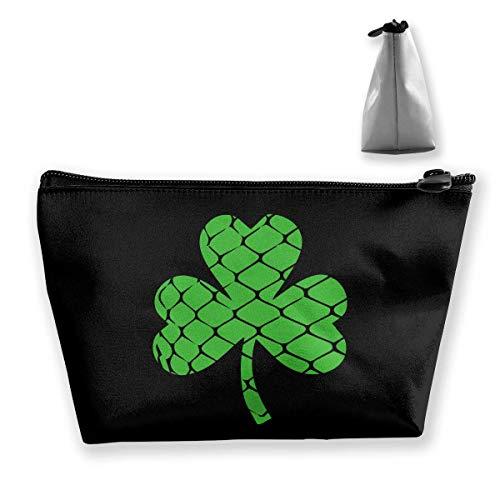 Shamrock Lacrosse Lucky Irish Leaf Reisekosmetiktaschen Federmäppchen Multifunktionsbeutel -