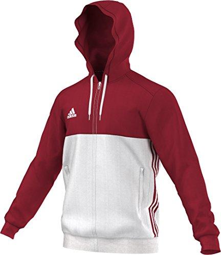 adidas Herren Hoody T16 Rot/Weiß