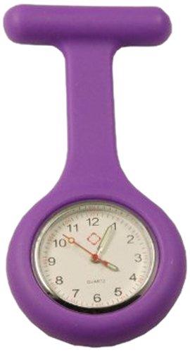 Sundo 48596 Schwestern-Uhr, violett