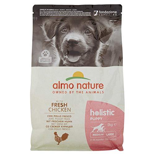 almo nature Holistic Dog Medium Puppy Secco Cane kg. 2 Mangimi secchi per Cani