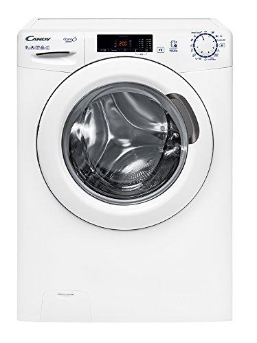 Candy HGS 129TH3/1-S Libera installazione Carica frontale 9kg 1200Giri/min A+++ Bianco lavatrice