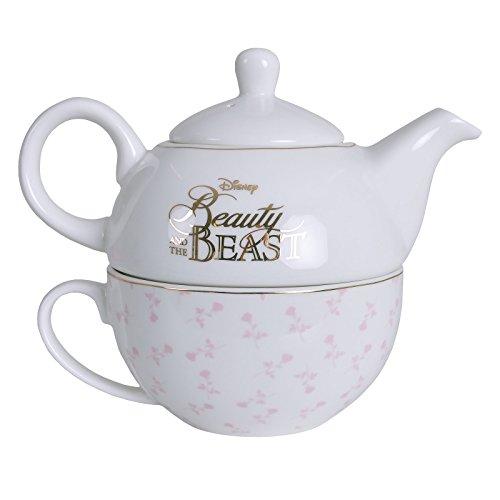 - Tea For One Mug And Teapot Set (Die Schöne Und Das Biest Tee-set)