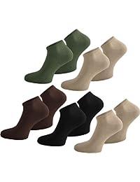 normani 10 Paar Sneakers Socken für Sie und Ihn - Laufsocken Sportsocken in Unisex