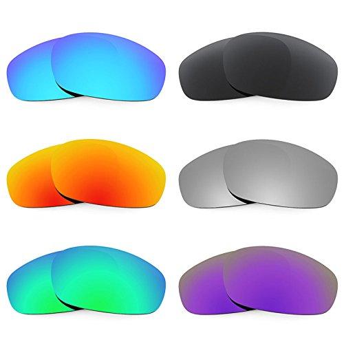 Revant Ersatzlinsen für Oakley Split Jacket Polarisiert 6 Paar Kombipack K024