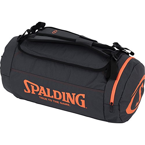 Spalding Duffle Bag Taschen, Anthra/Shock orange, NOSIZE