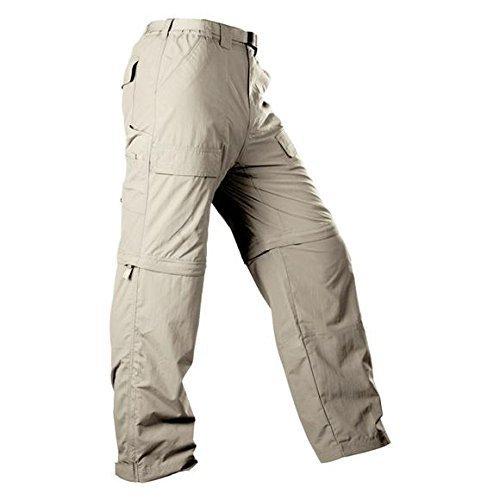 White Sierra Men 's Trail 30-inch Inseam Convertible Pant, Medium/30-inch, stone by White Sierra -