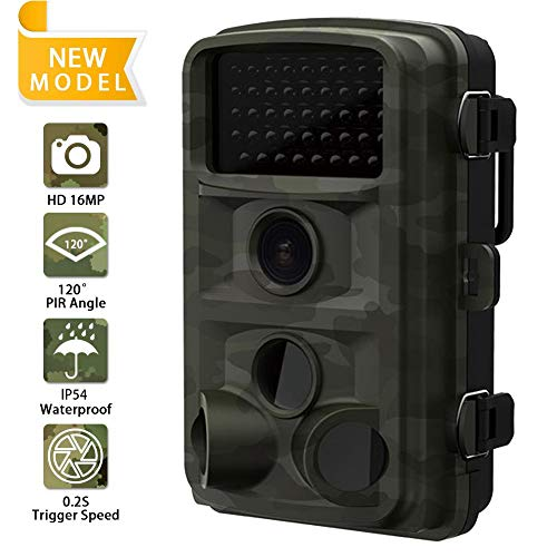 DZSM Outdoor Wasserdichte Jagd Trail Game Kamera mit 3 PIR Sensor 44pcs Low Glow IR LEDs Digital Überwachungskamera
