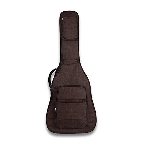 Yinyuetiantang@ Ballade Gitarrentasche Mit Dicken Wasserdichten Gitarre Rucksack, 40/41 Zoll/Farbe