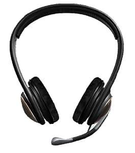 Sennheiser PC166 micro et casque double oreillettes spécial gamers version USB avec carte son intégrée