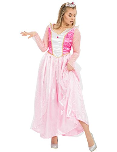 Rosa Märchen Prinzessin Kleid Kostüm Karneval Fasching Verkleidung
