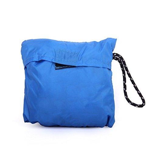 Ma-on Outdoor Sport Sac à dos de camping Housse de pluie étanche à la poussière Housse 60–90L (Bleu)