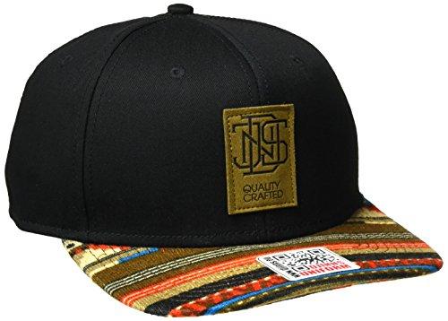 Djinns Herren Caps / Snapback Cap 6P Jersey Aztec schwarz Verstellbar
