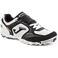 Joma Top Flex Turf, Zapatilla de fútbol, Black-White