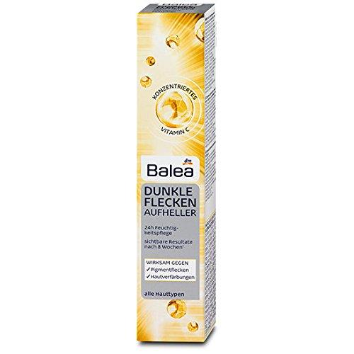 Balea Dunkle Flecken Aufheller Vitamin C für alle Hauttypen, 50 ml - Akne Flecken Creme