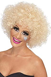 Smiffys Perruque afro funky des années 70, blonde, 120g Taille Unique (B00BBLDTYG) | Amazon price tracker / tracking, Amazon price history charts, Amazon price watches, Amazon price drop alerts