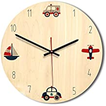AZW@ Clock Relojes de Pared de Restaurante, Reloj de Pared Creativo de 12 Pulgadas