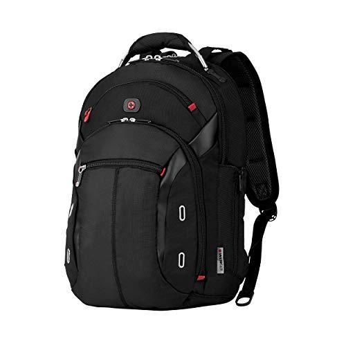 """Wenger 600627 GIGABYTE 15\"""" MacBook Pro Rucksack, Anti-Scratch Futter mit iPad/Tablet / eReader Tasche in schwarz {17 Liter}"""