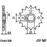 JT - Piñon Jt 507 De Acero Con 15 Dientes