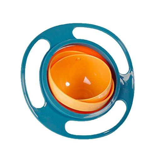 Tiowea Non Spill Füttern Kleinkind Gyro Bowl-360 Kinder-Lebensmittel Spilling Vermeiden