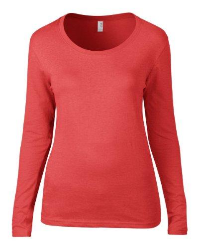 Anvil Damen T-Shirt Rosa - Pink