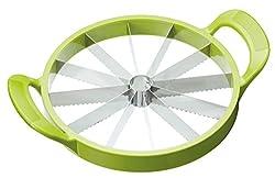 Kitchen Craft Melonenschneider in grün, Plastik, 34.4 x 25.5 x 6.5 cm