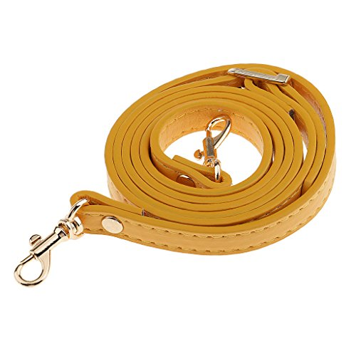 - 41ZC 2BwoHxqL - Sharplace 120cm Adjustable DIY Shoulder Bag Accessories Handbag Handles Straps Orange – Yellow, Adjustable Length
